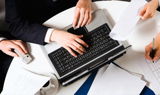 Les grandes sociétés nous ont confié la mise en place de services Desk.